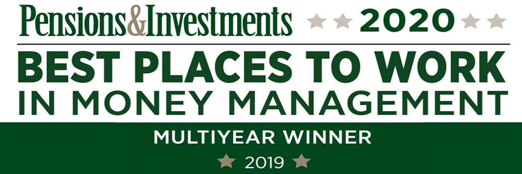 Pensions and Investments Best Places to Work in Money Management 2019